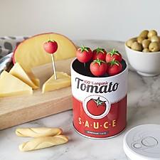 Tenedores de aperitivo con forma de tomatitos