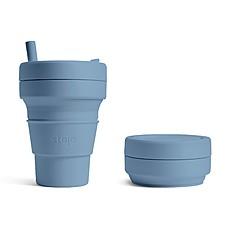 Stojo: el vaso plegable de bolsillo grande