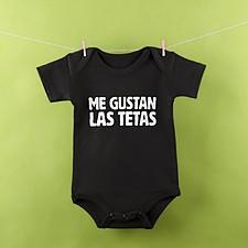 Body para bebé Me gustan las tetas