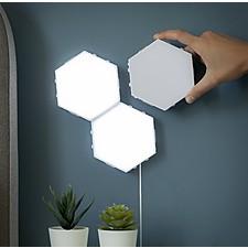 Paneles LED modulares magnéticos y táctiles