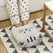 Calentador de pies con forma de gato