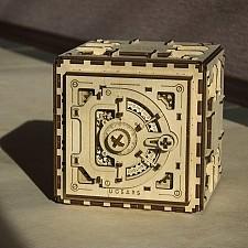 Kit de construcción de una caja fuerte de madera