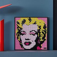 Set de LEGO Marilyn Monroe de Andy Warhol