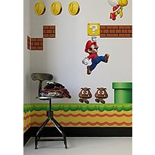 """Vinilos Adhesivos """"New Super Mario"""""""
