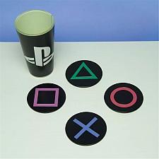 Posavasos iconos consola Playstation