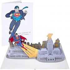 Tarjeta 3D Pop-Up Superman