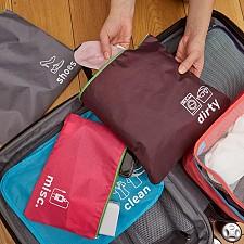 Set de bolsas para viaje