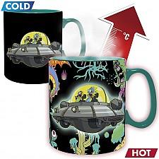 Taza de Rick & Morty que cambia con el calor