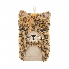 Bolsa de agua caliente con forma de leopardo