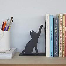 Sujetalibros original con forma de gato