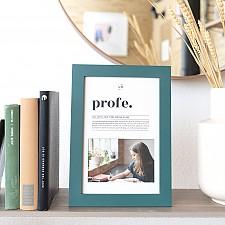 Marco de fotos para profesores