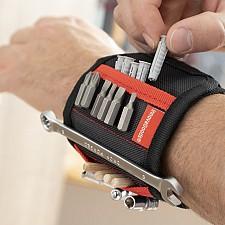 Muñequera magnética para utensilios de bricolaje