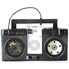 "Altavoces para iPod ""Boom Box"""