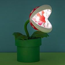 Lámpara Super Mario Planta Piraña