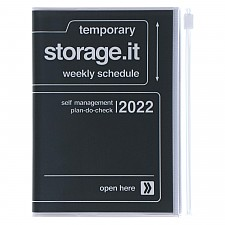 Agenda 2022 tamaño A6 Storage.it