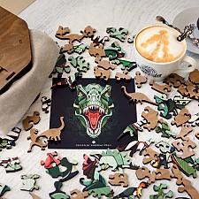 Puzzle de madera con forma de animales EWA