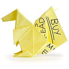 Bloc de Papeles Adhesivos y Origami