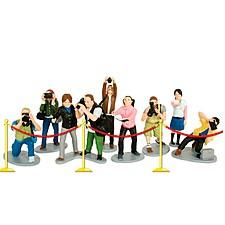 Set de Figuras de Paparazzi