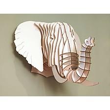 "Cabeza de Elefante de Cartón Mediana ""Eyan Jr."""