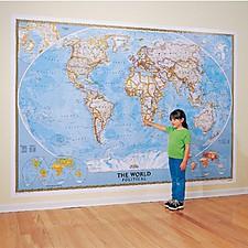 Mapamundi Político Gigante