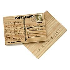 Postal de Madera DIY