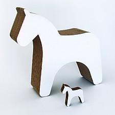 'Trojan Horse', Caballitos de Cartón