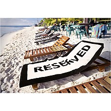 Toalla de Playa Reserved