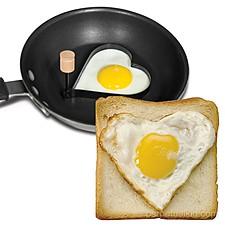Molde Corazón para Freír Huevos