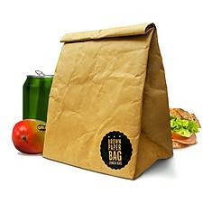 Bolsa de Papel para el Almuerzo