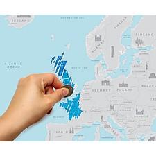 Mapa de Rascar Europa