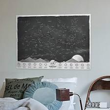 Mapa Estelar que Brilla en la Oscuridad
