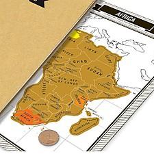 Diario de Viaje con Mapas de Rascar