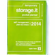 """Agenda 2014 A6 """"Storage.it"""" Verde"""