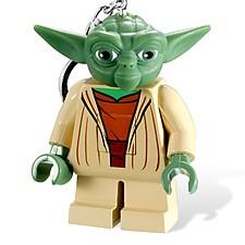Llavero Linterna Yoda de LEGO