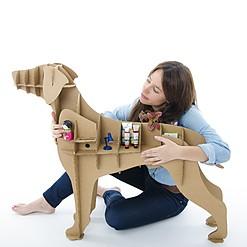 Perro de Cartón Labrador