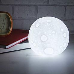 Luz de noche con forma de luna