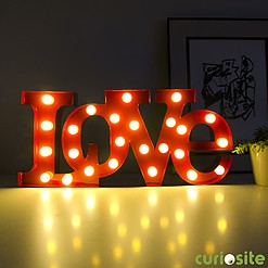 Lámpara LED Love