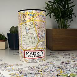 Puzzle Plano de Madrid