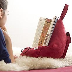 Atril-cojín para libros y tablets
