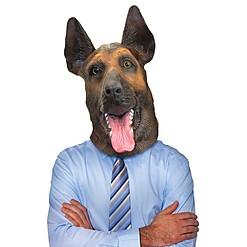 Máscara de Perro Pastor Alemán