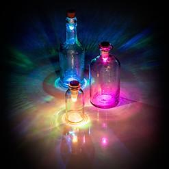 Tapón de Luz de Colores