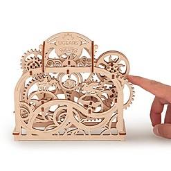 Kit para construir un teatro mecánico de madera