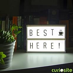 Caja de Luz de Madera