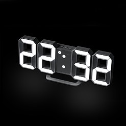 Reloj despertador digital con números gigantes