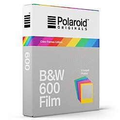 Película Polaroid 600 Original con Marco de Colores