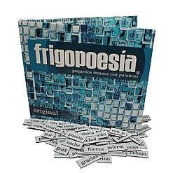 Frigopoesía: imanes de nevera con palabras