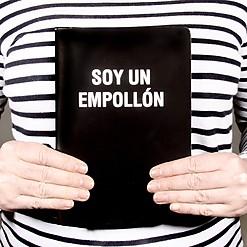 Cuaderno con mensaje para empollones