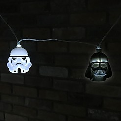 Guirnalda de Luces Darth Vader y Stormtrooper
