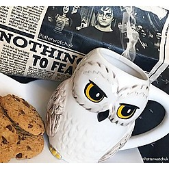 Taza Harry Potter 3D Hedwig