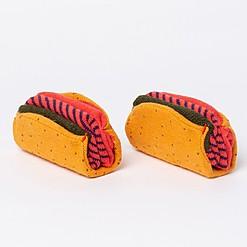 Calcetines originales con forma de tacos mexicanos